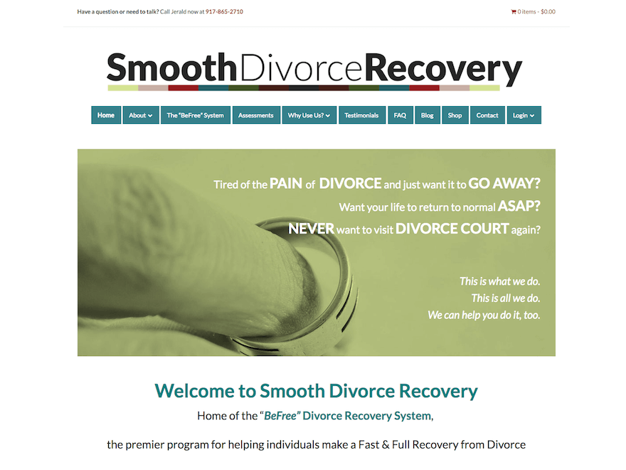 Smooth Divorce Recovery screenshot